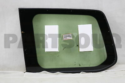 6272060D60 Genuine Toyota WINDOW ASSY, QUARTER, LH 62720-60D60