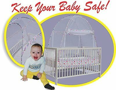 Best Baby Crib Safety Net Tent - Tried and Tested - Safe and Secure - Proven to