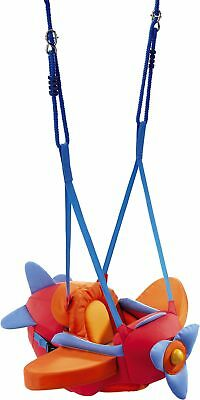 HABA Aircraft Swing – Indoor Mounted Baby Swing with Adjustable Straps,