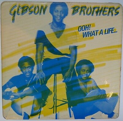 """Gibson Brothers - Ooh! What A Life - 12"""" Vinyl"""