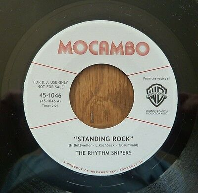 "The Rhythm Snipers - Standing Rock - 7"" Vinyl"