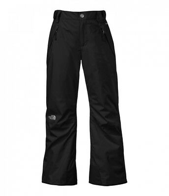 (XL (18 Big Kids), TNF Black) - The North Face Freedom Insulated Girls Ski Pants