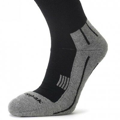 (UK 6 - 9, Black) - Snugpak Merino Wool Socks. Shipping Included