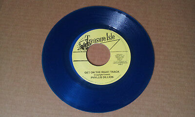 "PHYLLIS DILLON-GET ON THE RIGHT TRACK / MCCOOK-BOND STREET(7"" RE)treasure isle"