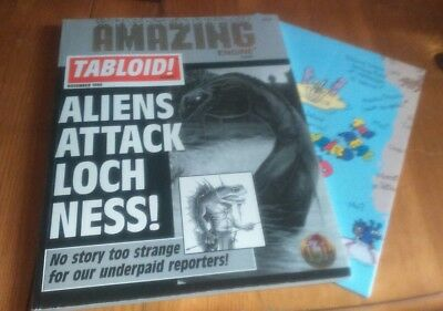 Amazing Engine: TABLOID!  RPG *TSR* Complete game with map