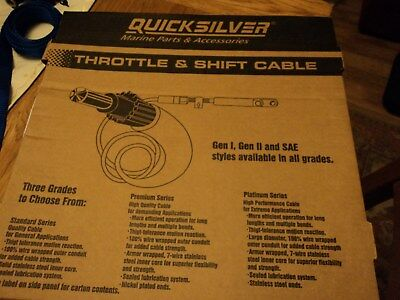 Pair of Quicksilver 21 foot Throttle and Shift Cables.
