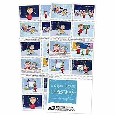 Charlie Brown Christmas USPS Forever Stamps (5 pack)