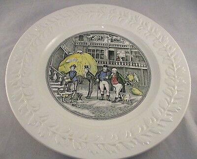 Adams Charles Dickens - Pickwick Papers - Decorative Plate - Ironstone