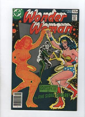 Dc Comic Wonder Woman no 243 May 1978 35 c USA