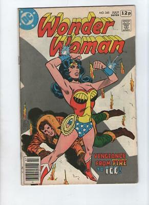 Dc Comic Wonder Woman no 245 July 1978