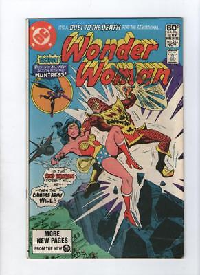 Dc Comic Wonder Woman no 285 Nov 1981 60c USA