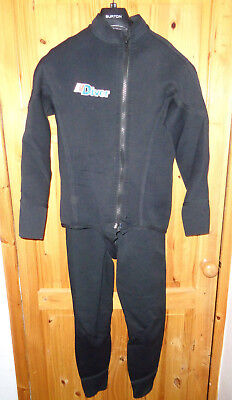 Northern Diver 2 piece diving and snorkeling wetsuit Size:medium
