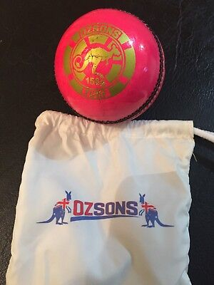 1x156g Pink Turf 4piece Cricket Wonder Ball by OZSONS