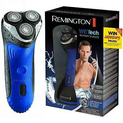 Remington AQ7 Wet Tech Rotary Mens Rechargeable Waterproof Electric Shaver New