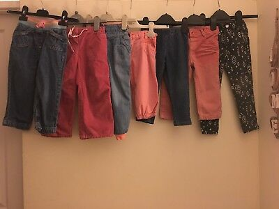 Bundle Girls Trousers & Jeans ~ Age 2-3 Inc Next H&m George