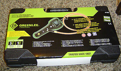 NEW! Greenlee FF200 FishFinder Plus Vision System w/ Rugged Carry Case Boroscope