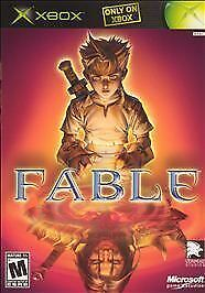 Fable (Microsoft Xbox, 2004)  Complete    Fast Shipping !!!