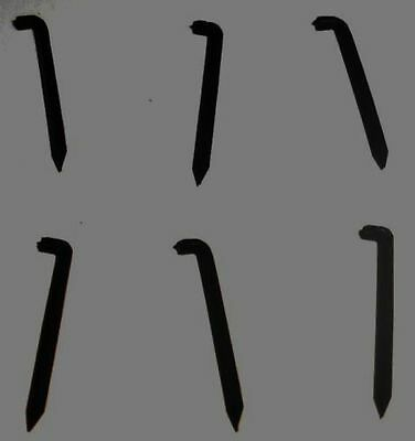 BANJO RAILROAD SPIKES (6 PACK) TO CAPO 5th STRING + FITTING GUIDE... 451 SOLD !!
