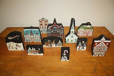 The Cat's Meow Village North Pole/American Holidays Collection 1996-99 ,YOU PICK