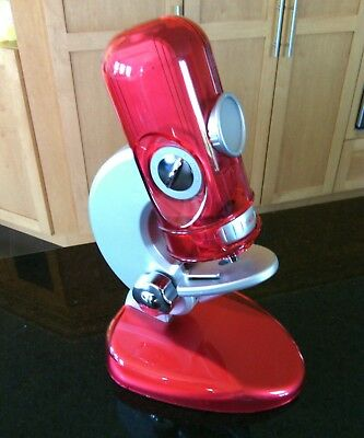 EDU Science Quick Switch Microscope Red 300x 600x 900x Age 8+ Kids Toy Nature