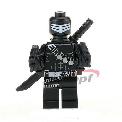 Snake Eyes GI Joe Minifigure US SHIPPER movie comic toy figure Cobra G.I. Joe