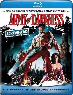 Army of Darkness [Screwhead Edi (Blu-ray Used Like New) BLU-RAY/WS/Screwhead ED.