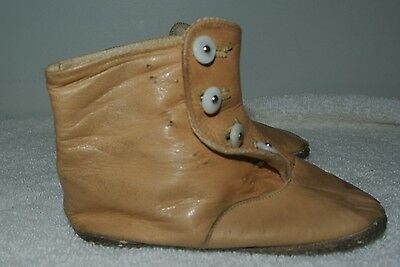 Antique Brown Supple Leather Baby_Doll Shoes
