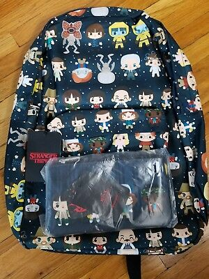 NYCC 2017 Exclusive Stranger Things Loungefly Backpack Only 300 Made Comic Con