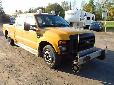 2009 Ford F-250 xl 2009 F250 F-250 Work Pickup 2 WD Crew Cab 8' bed Hi-Rail Hy Rail Railroad truck