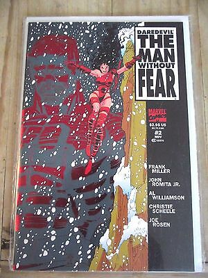 Daredevil The Man Without Fear #2 (of 5) Limited Frank Miller Newsstand Ed. NM-