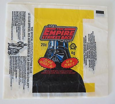 Wax Wrappers - Star Wars Empire Strikes Back - Series 2 O Pee Chee