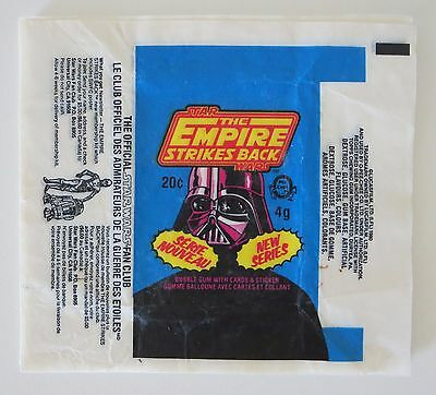 Wax Wrappers - Star Wars Empire Strikes Back - Series 3 O Pee Chee
