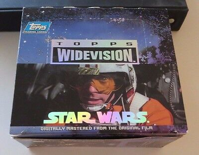 Topps Widevison 1994 - STAR WARS A NEW HOPE - Complete 120 card set PLUS...