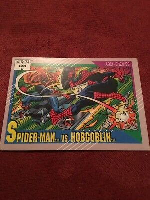 1991 Marvel Universe II #98 Spider-Man vs. Hobgoblin