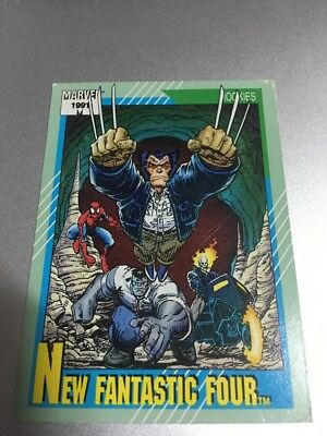 1991 Marvel Universe II #149 New Fantastic Four
