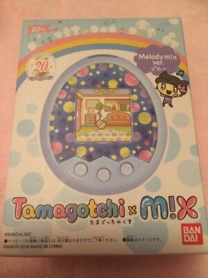 Tamagotchi m!x with box, Melody Ver. In blue (Melody Mix Version)