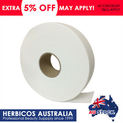 100m Paper Waxing Strips Roll Hair Removal Depilatory Non Woven Wax Strip