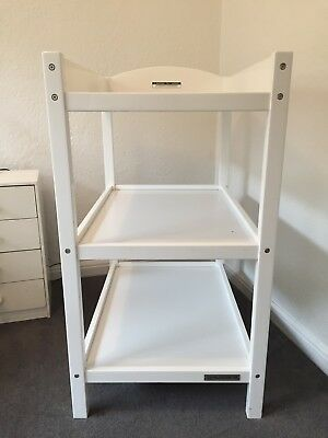 Baby Change Table - White
