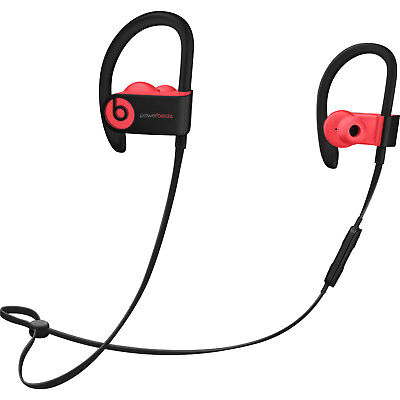 BEATS BY DR. DRE POWERBEATS3 WIRELESS EAR-HOOK HEADPHONES - SIRED RED #2117bn