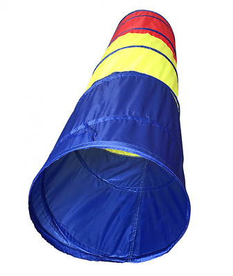 SueSport 6 feet Children Play Tent Tunnel Kid Pop up Discovery Tube Playtent Toy