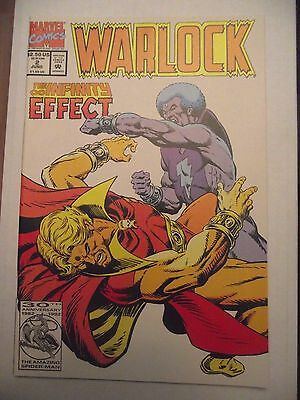 Warlock #2 The Infinity Effect Thanos, Magus, Avengers 1992 FN