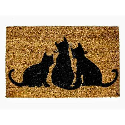 New Heavy Duty CAT Door Mats Entrance Doormat 3 CATS Outdoor Mat 45cm x 75cm