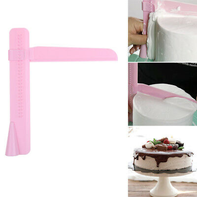 Cake Smoother Polisher Tools Cutter Fondant Sugarcraft Icing Adjustable Height