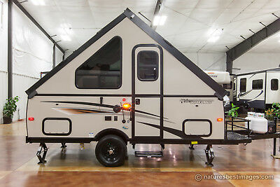 New 2017 A12R A Frame Hard Side Lite Fold Down Pop Up Travel Trailer RV Deck