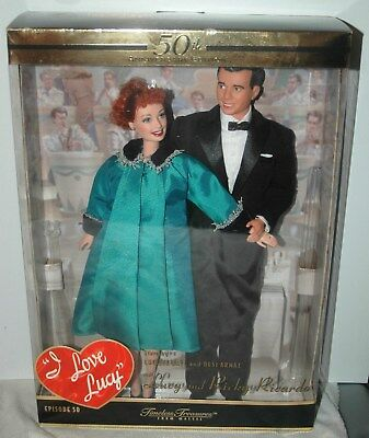 "I Love Lucy Episode 50 ""lucy Is Enceinte"" 50Th. Anniversary Lucy & Ricky Dolls"