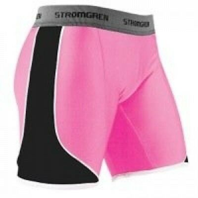 (XX-Large, Pink/Black) - Cramer Women's Crossover Softball Sliding Shorts w/