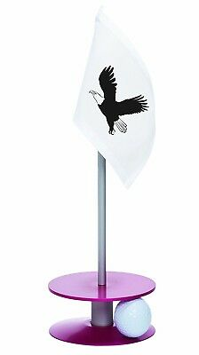 Anne Stone Golf Putt-A-Round Eagle Flag 1 Putting Aid, Pink, Small. Huge Saving