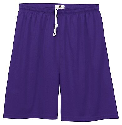 (Small, Purple) - Badger Big Boys' Moisture-Management Athletic Performance
