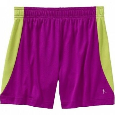 (X-Small, Sparkling Orchid) - Danskin Now Girls' Soccer Athletic Shorts