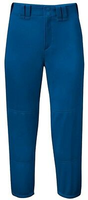 (Small) - Mizuno Women's Select Belted Softball Pant, Royal , Small